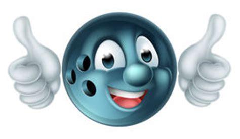 Lc 3d Bowling lustige bowlingkugel stock abbildung illustration