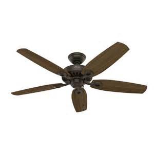 new ceiling fans shop builder elite 52 in new bronze downrod or