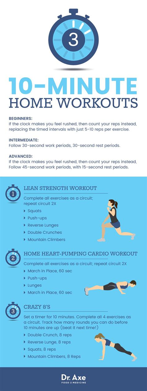 3 easy at home 10 minute workouts dr axe