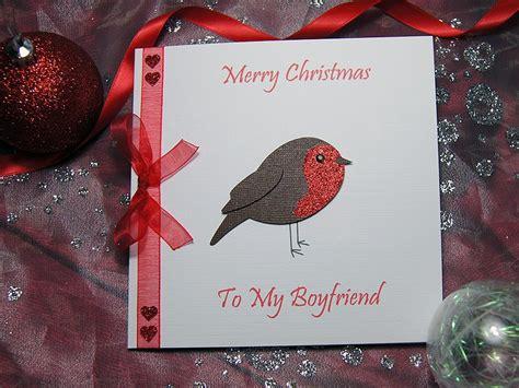 lil robin handmade christmas card