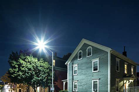 Cool Garages led streetlights are giving neighborhoods the blues ieee