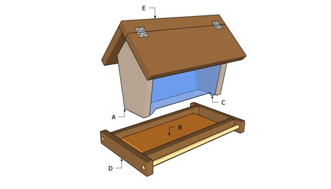 pdf diy plans to build bird feeder download playhouse plan