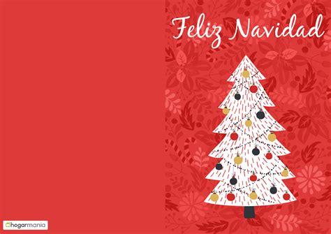 imagenes tarjetas navideñas para imprimir postales y tarjetas navide 241 as hogarmania