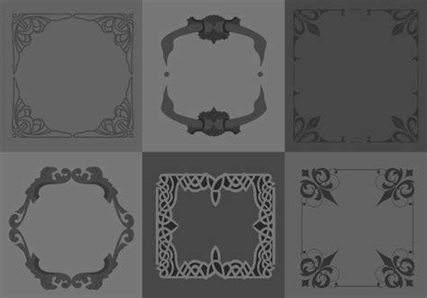 border designs psd vector eps format