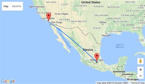 california map mexico santa california to mexico city for only 222