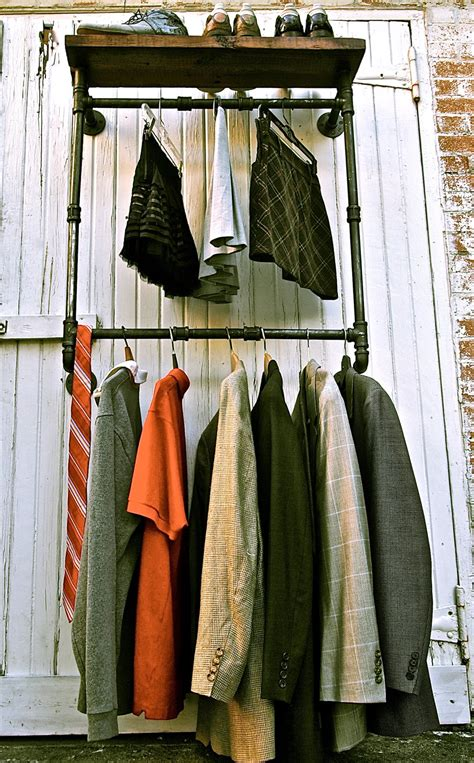 Industrial Pipe Clothing Rack by The Collectionaire Pipe Dreams With Stella Bleu Designs