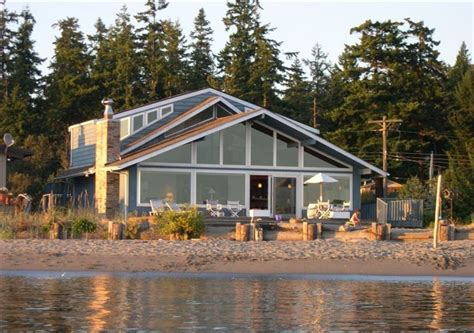 the main house the quintessa on whidbey island blue heron beach house on beautiful whidbey vrbo