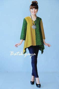Blouse Wanita Simple Zella blus baju batik modern kantoran wanita model blus batik modern kebaya and batik