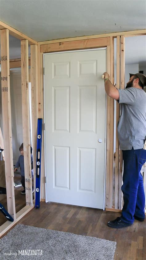 install  prehung door making manzanita