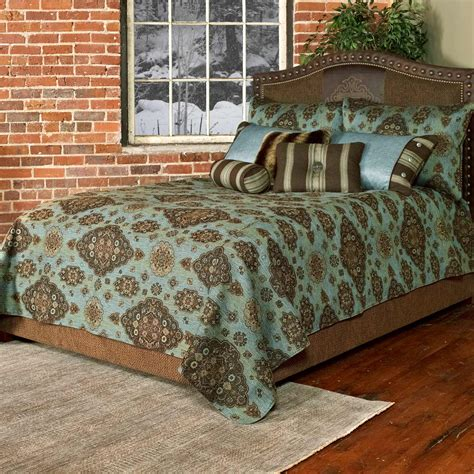 teal coverlet queen western bedding queen size paddington teal coverlet set