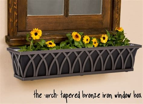 black plastic window boxes indoor wall from yourahome fountains inside the