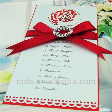 how to make a menu card laser cut flower food menu card for wedding buy