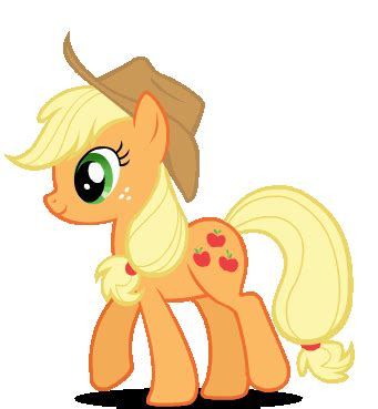 imagenes de apple jack de my little pony imagen walking applejack applejack 33605287 341 369 gif
