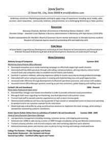 marketing intern resume template premium resume samples