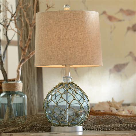 Coastal Bedroom Ceiling Lights blue glass table l coastal table ls nashville