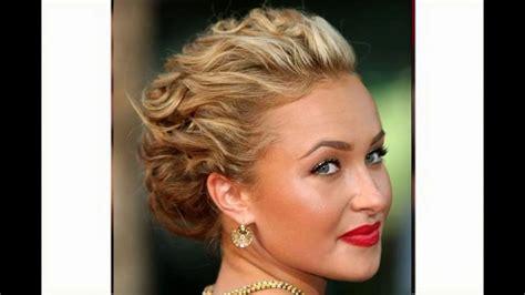 recogidos cortos peinados recogidos pelo corto para mujer