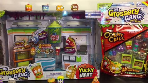 the grossery inside the yucky mart seek and find books grossery yucky mart corny chip 10 pack bag