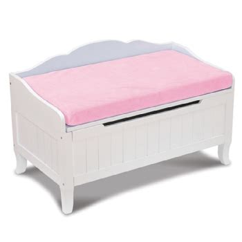 toy box bench with cushion toy chest with pink cushion furniture times com