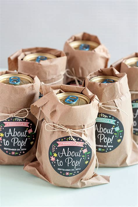 Baby Shower Giveaways - 10 simple and quick to make diy baby shower favors shelterness