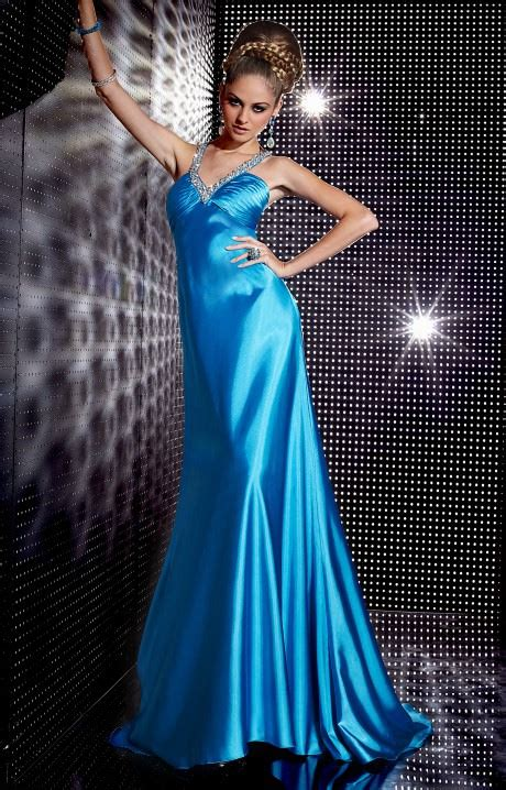 studio   satin sequin gown prom dress