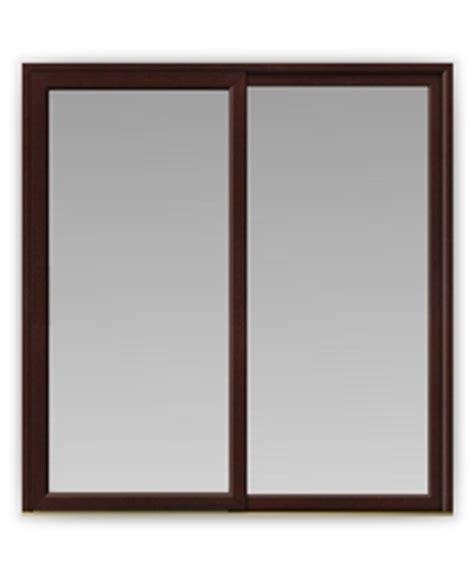 in line sliding patio doors in rosewood upvc patio doors