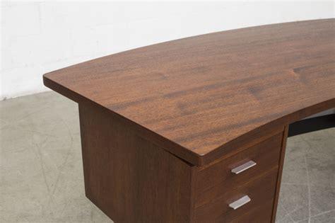 modern desk legs quot boomerang quot desk with modern metal table legs