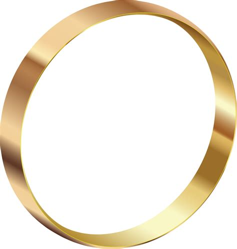 gold ring clipart clipground