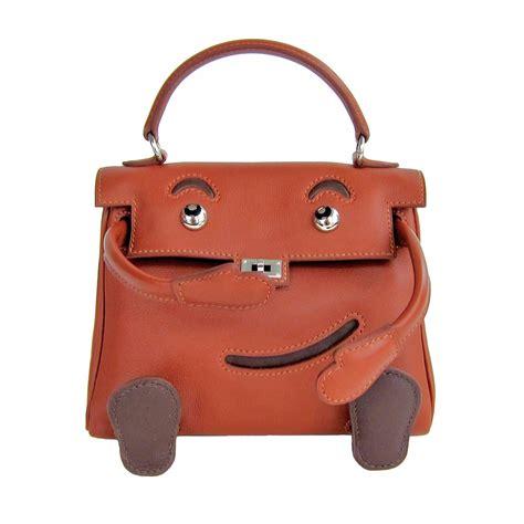 The Limited Edition De Couture Handbag by Hermes Quelle Idole Doll Bag Noisette Leather