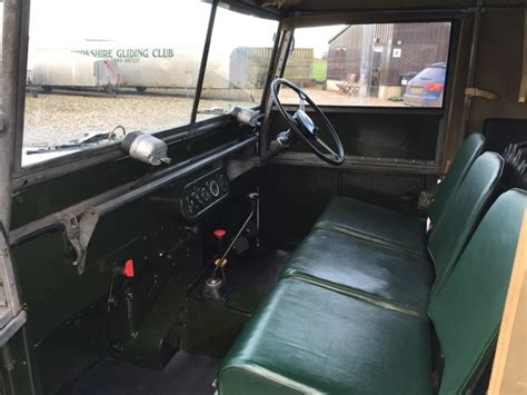 Topi Land Rover Series One Club land rover 174 series 1 early 80 inch yxg brown 4x4