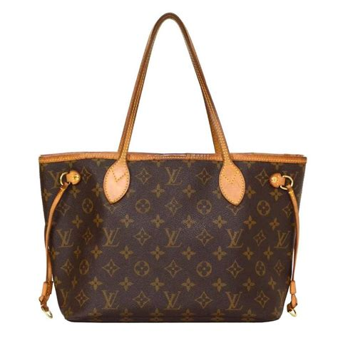 louis vuitton monogram canvas neverfull pm tote bag ghw