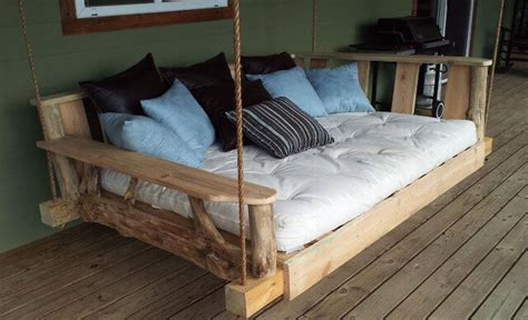 pallet swing bed enjoy with pallet porch swing in leisure time 101 pallets