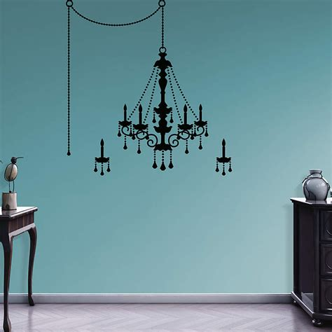 chandelier wall decal chandelier wall decal shop fathead 174 for wall d 233 cor