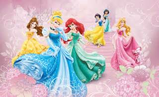 Disney Princess Wall Mural Pics Photos Princess Wall Mural Princess Room With