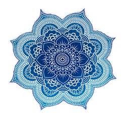 Lotus Flower Mandala Large Lotus Flower Mandala Tapestry 100 Cotton