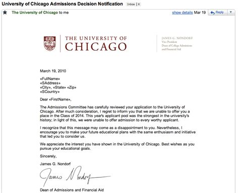 Rejection Letter From Grad School dailyrejections tired of constantly succeeding