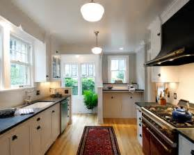 Houzz Kitchen Design by Volnay Galley Kitchen Traditional Kitchen