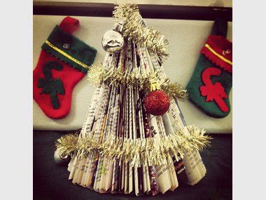 used string tinsel ideas crafty tree out of reader s digest magazines photos reader s digest