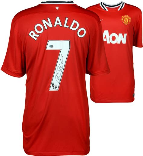 manchester united official soccer jerseys official soccer cristiano ronaldo manchester autographed united jersey