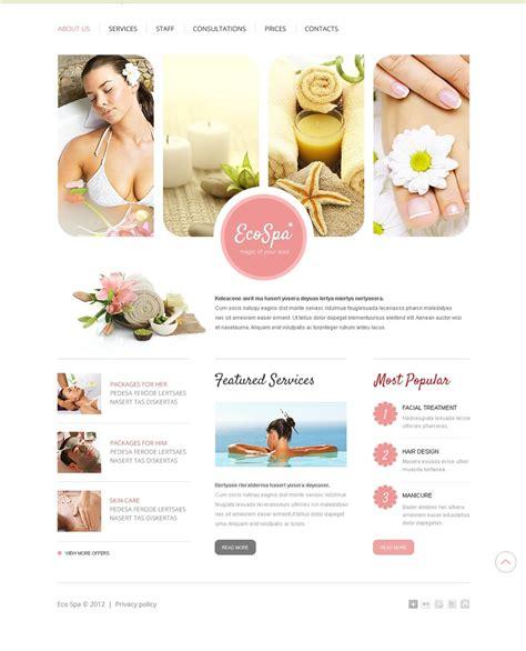 beauty salon websites templates free download ease template beauty salon website template 37501