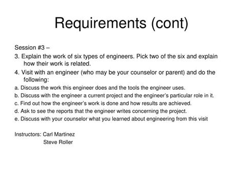 engineering merit badge powerpoint  id