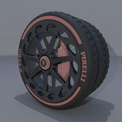 wheel lamborghini veneno by saiful22 3docean