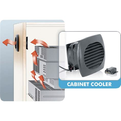 Av Closet Cooling by Middle Atlantic Icab Cool Cabinet Cooler Icab Cool B H Photo