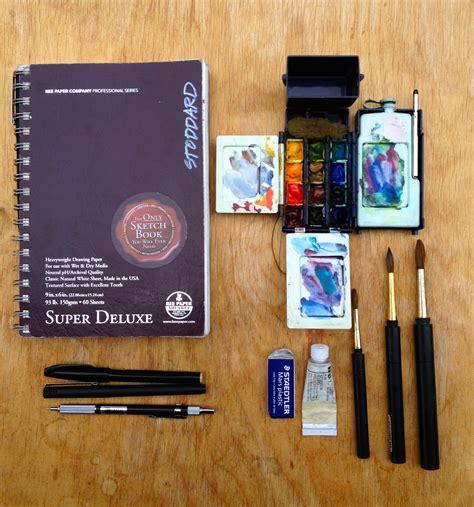 sketchbook kit and june 2013