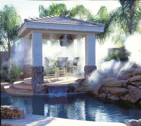 patio misting systems can now be custom designed