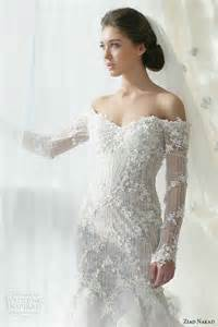 wedding dresses with the shoulder sleeves chic photos of mermaid wedding dresses with the