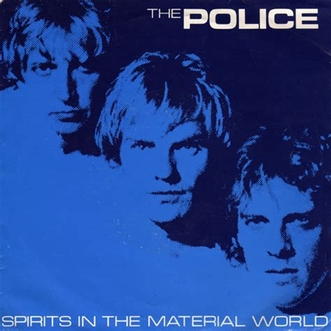 We Are Spirits In The Material World by 45 Rpm The S Spirits In The Material World U K