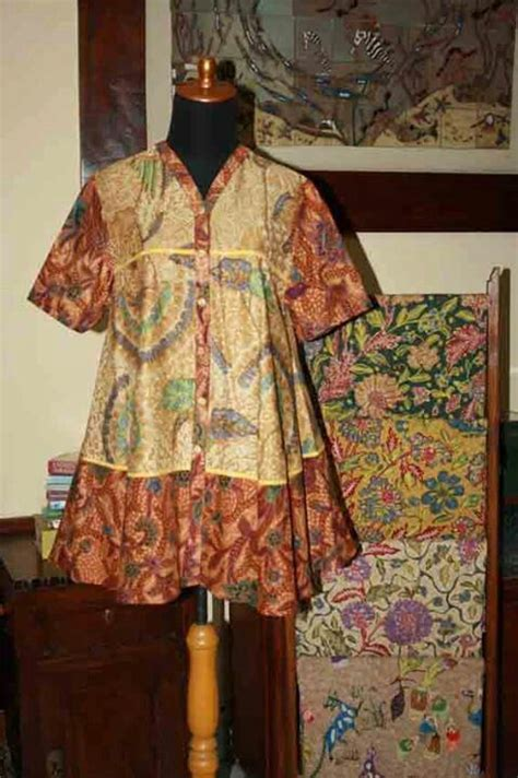 Kebaya Set Tunik Am 486 559 best blus batik images on