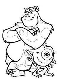 monsters inc coloring pages minister coloring