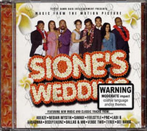 Wedding Songs Soundtracks by Various Artists Sione S Wedding Soundtrack Album Cd