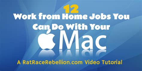 Mac Do You by Mac Users 12 Work From Home You Can Do With Your